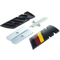 Wholesale car styling car covers car emblem automobile accessories front grill emblem for M1 M2 M3 M5 M6 E30 E36 E46 E90 E92 E93