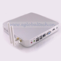 Wholesale Diskless Computer with G DDR3 RAM G SSD Celeron U Minipc Fanless System Linux Ubuntu PC for Touch Screen