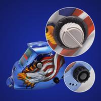 Wholesale New Arrival Pro Solar Auto Blue Welding Helmet Arc Tig Mig Mask Grinding Welder Mask