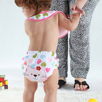 Wholesale Newest Toilet Pee Potty Training Pants Cloth Diaper Fraldas Underwear Babysuits For Baby Boy Girl