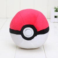 Wholesale Cute anime Pikachu game plush figure pokeball pikachu plush stuffed toy pokeball good toys m