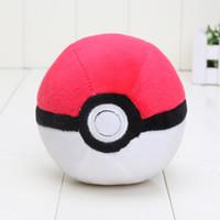 achat en gros de bons jeux vidéo-Cute anime Pikachu jeu en peluche pokeball pikachu peluche en peluche pokeball jouets bon 11m