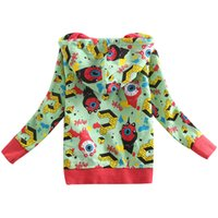 Wholesale Children New Style Kids Clothes Baby Hot Fashion Outwear Coat Cool Jackets Top Autumn Spring Handsome Long Sleeve