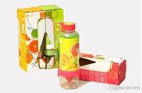 Wholesale Hotsell new Zinger Citrus fruit infusion bottle of water citrus juice machine Zinger Citrus lemon glass of water bottles