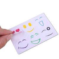 Wholesale 60 Stickers Smiley Insect Mosquito Repellent Stickers Patches Citronella Oil