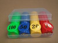 bargaining chip - New Plastic Poker chips Casino Gambling Game Bargaining chip Bar Party Games mahjong box