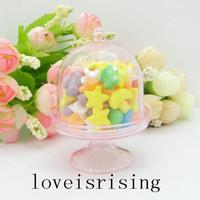 Nouveautés --- 20pcs / lot Mini rose clair Cupcake Boîtes de mariage de faveur pour Fournitures Lovely Baby Shower Party - Hot Sale