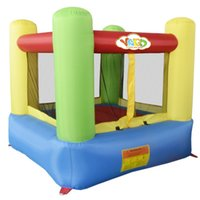 Wholesale Mini Home Used Inflatable Bouncer Jumping House Trampoline For Kids