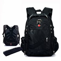 Wholesale quot Computer Notebook Laptop Backpacks Mochilas Bagpack Men Outdoor Travel Sport Bags Packsack Designer Brand School Backpack