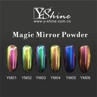 Wholesale Magic mirror powder chameleon effect pigment New mirror chameleon pigments Mirror effect pigments for nail polish