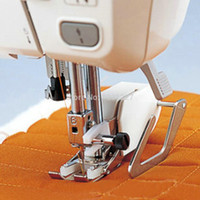 Wholesale Hot New Mini handheld Sewing shoe Machine Quilting Walking Even Feed Foot Low Shank For Janome maquina costura