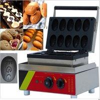 Wholesale Taiwan Snack machine Egg shape waffle maker waffle machine Model E1 hot sell machine new machine