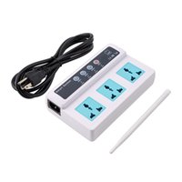 Wholesale Remote Control Wireless Sockets Mobile Phone GSM SIM Smart Socket Switch