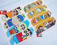 Wholesale High quality Anime Crayon Shin chan Transparent bookmark sets