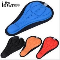bicycle acessories - 3000 BBA4160 MEN color Cycling Bike Saddles D Comfortable Silicone Gel Seat Cover Cushion Soft Bicycle Pad Mountain Bike Parts Acessories