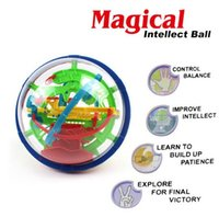 ball step - Steps A Puzzle ball Small Educational Magic Intellect Ball Marble Puzzle Game perplexus magnetic balls