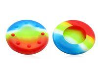 El apretón Skitproof del pulgar del Thumbstick del silicón de la venta caliente sostiene el caso de la cubierta del casquillo para el regulador de PS4 PS3 XBOX ONE 360