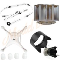 antenna motors - DJI Phantom Camera Lens Sun Hood Cap Motor guards Antenna Range Booster Neck strap