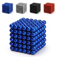 Wholesale 2016 Hot Sale Magic Cube Multi Molding New Nickel Color mm Neodymium Magnetic Balls mm Hey10614