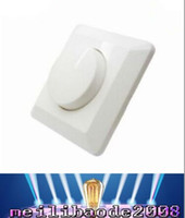 Wholesale LED SCR EU dimmer switch W AC V W Adjustable Controller LED Dimmer Switch For Dimmable panel light Downlight MYY37