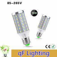 aluminum based pcb - Full Watt W Corn Led Bulb High Power E27 E14 Base LEDs No Flicker V Bright LEDs Light Lamp Aluminum PCB Cooling
