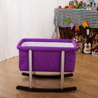 Wholesale Baby cot portable portable cot baby bed shaker bed coax sleep bed years old baby bed