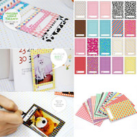 Wholesale 20pcs SET Polaroid Films Film Photo Stickers Sticker Frame For FujiFilm Instax Mini Instant S S