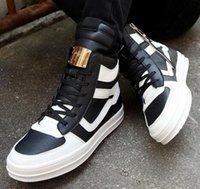 Cheap 2016 New Autumn And Winter Men High-top Shoes Fashion Leather Outdoor Sneakers Running Shoes Hip-Hop Warm Men Skateboard
