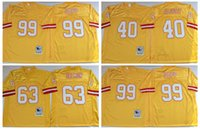 bay photos - 100 Stitiched Tampa Bay jerseys Buccaneers Warren Sapp Mike Alstott Lee Roy Selmon Throwback for men jerseys real photo