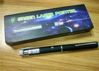Wholesale Great Green laser pointer in Star Cap Pattern nm mw Green Laser Pointer Pen With Star Head Laser Kaleidoscope Light with Package DHL