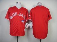 baseball canada - Cheap Baseball Jerseys toronto Blue Jays Bautista Lawrie Authentic Jose Reyes Canada Day Jersey Red jerseys Canada accept custom