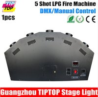 Wholesale TIPTOP New Fancy LPG Flame Machine Head Height Meter Spray Fire Machine Safe to Use V Stage Effect Fire TP T15