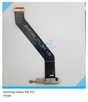 Wholesale ForSamsung Galaxy Tab P7500 Charging Port Flex Cable Dock Connector USB Port Repair Part
