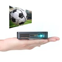 Wholesale DLP Projector Crenova XPE700 Pico Video Projector Mini Projector WiFi Connection with iPhone Smartphone iPad tablet for Home Outdoor Cinema