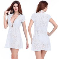 beach center - Fashion Beach Wear Dress Matches Bikini Cheap Swimsuit Ringed Center Loose Pattern Women Sexy transparent Long Lace Dress Colors