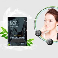 Wholesale Via DHL PILATEN Suction Black Mask Face Care Mask Cleaning Tearing Style Pore Strip Deep Cleansing Nose Acne Blackhead Remove Black Head