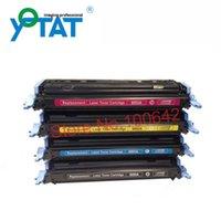Wholesale Color toner cartridge Q6000A Q6001A Q6002A Q6003A for HP Color LaserJet Printer Series CM1015 MFP Series