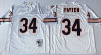bears throwbacks - Stitiched Chicago jerseys Bears Walter Payton Throwback for mens jerseys colors real photo