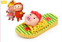 Wholesale 2016 explosion models children sandals D cartoon Pig Man beach slippers children s shoes for boys and girls sandals