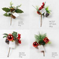 amazon decorations - Christmas tree ornament PVC cuttings whosale Christmas Decoration Christmas Wreath cuttings for amazon Christmas extra gift