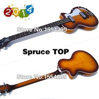 bass c - New C Series String Electric Bass C Bass Style Guitar Spruce Top Flamed Maple Side Back Vintage Sunburst Real photo shows