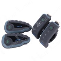 Wholesale x1200M V8 Motorcycle Bluetooth Helmet Headset Intercom Handlebar Remote Control with FM NFC for Riders M16528
