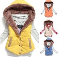 Wholesale New Hot Women Vests Plus Size Sleeveless Vest Femininas Cotton Vests Hoody jacket Women Waistcoat