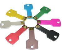 Wholesale Black Key USB FLAH DRIVE USB DISK USB PENDRIVES GB Mixed colors