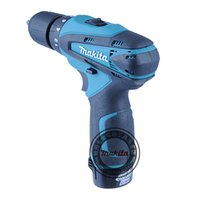 Wholesale Genuine Makita lithium ion battery Cordless electric drill DF330DWE screwdriver tool