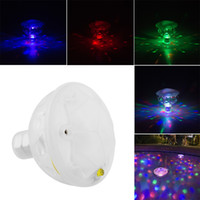 baby pool party - New LED Underwater Waterproof Durable Floating Lamp Disco Multi Color Party Light Baby Pool Spa Tub Bulb