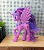 Wholesale My Pony Friendship Is Magic Action Toy Figures Hobbies Unicorn Horse Cartoon Model Little Cute Pony Twilight Sparkle Toys Action Figures