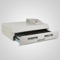 achat en gros de un four de brasage par refusion-T-962C 2500W Infrarouge IC Réchauffeur Reflow Four Machine à souder 400 x 600 mm
