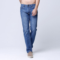 absolutely cotton - Men jeans Fashionable Casual Pants Leisure Trsousers Cotton Bussini Absolutely High Quality top selling Size