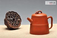 Wholesale Hot sales teapot Authentic yixing teapot CC tea set crafts tea setand send two yixing tea cup huazun